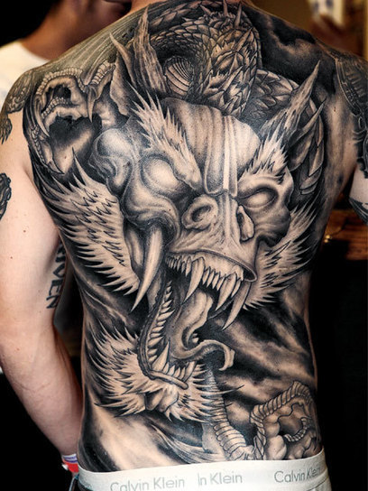 Dragon Tattoos Designs Ideas Meaning Pictures G