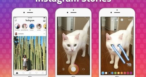 "Instagram launches ""Stories,"" a Snapchatty feature for imperfect sharing 