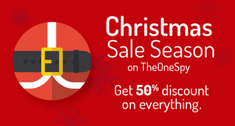 50% OFF - Christmas Sale on TheOneSpy Software Store - SeerOmega | work | Scoop.it