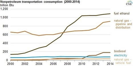 Nonpetroleum share of transportation fuel energy at highest level since 1954 | Green Energy Technologies & Development | Scoop.it
