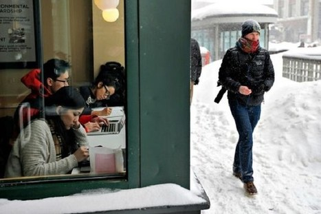 Bad Weather: Better for Work, Terrible for Everything Else | Technology for productivity | Scoop.it