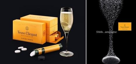 Veuve Clicquot crée le premier champagne en pastilles qui se dissout dans l'eau | Articles Vins | Scoop.it