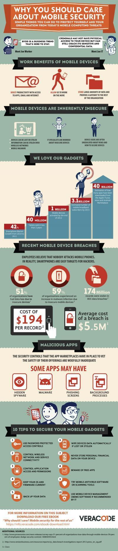 Why You Should Care About Mobile Security [Infographic] | ciberpocket | Scoop.it
