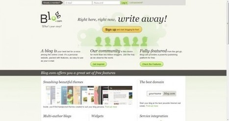Las 10 mejores plataformas online para crear tu propio blog gratis | Conocimiento libre y abierto- Humano Digital | Scoop.it