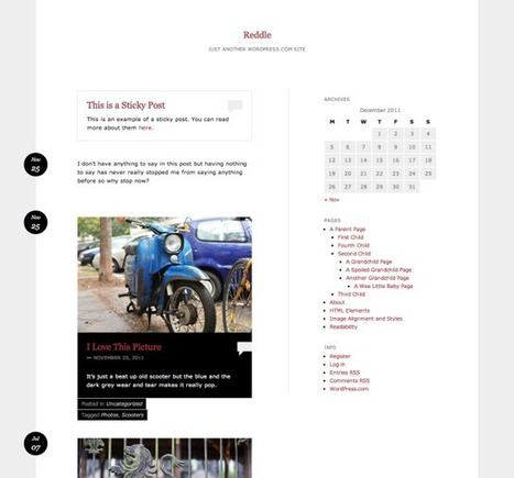 5 Free Wordpress Themes for Writers   The Writer's Resource Cupboard   Scoop.it