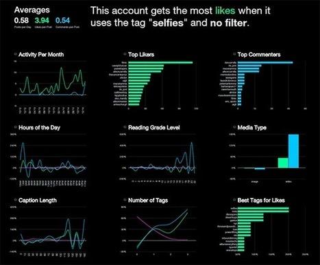 PicStats. Toutes les stats d'un compte Instagram | Veille Réseaux sociaux | Scoop.it