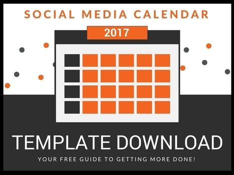 How to Fill Up Your Social Media Calendar [Strategy + Template] | #SocialMedia, #SEO, #Tecnología & más! | Scoop.it