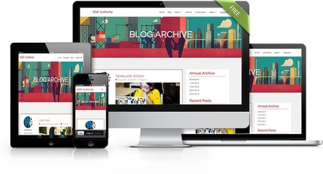 WpF Authority - Free Simple WordPress Theme for...
