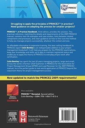 Read prince2: a practical handbook | pdf books.