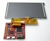 "5"" 800x480 HDMI Display mit resistivem Touchscreen - Watterott electronic 