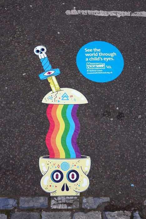 Regarder la ville avec des yeux d'enfants   streetmarketing   Scoop.it
