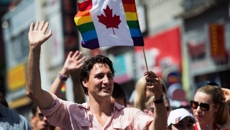 'It shouldn't be a big thing': Trudeau first sitting PM to march in Toronto's Pride parade | LGBT Times | Scoop.it