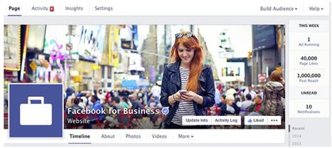 Le 28 mars lancement des nouvelles Pages Facebook | Communication #Web & Réseaux Sociaux | Scoop.it