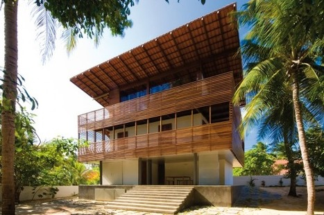 [Mundau, State of Ceara, Brazil] Tropical House / Camarim Architects | The Architecture of the City | Scoop.it
