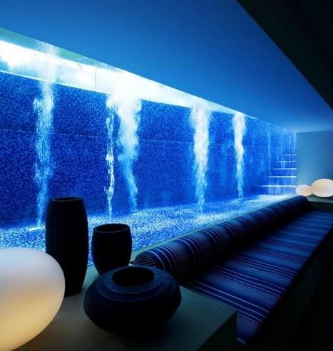 piscine en verre dans une maison de reve pisc. Black Bedroom Furniture Sets. Home Design Ideas