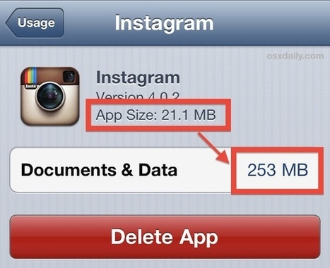"How to Remove ""Other"" Data Stored on the iPhone, iPad, iPod touch 