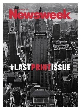 Así es la última portada de Newsweek | Journalism in the digital era | Scoop.it