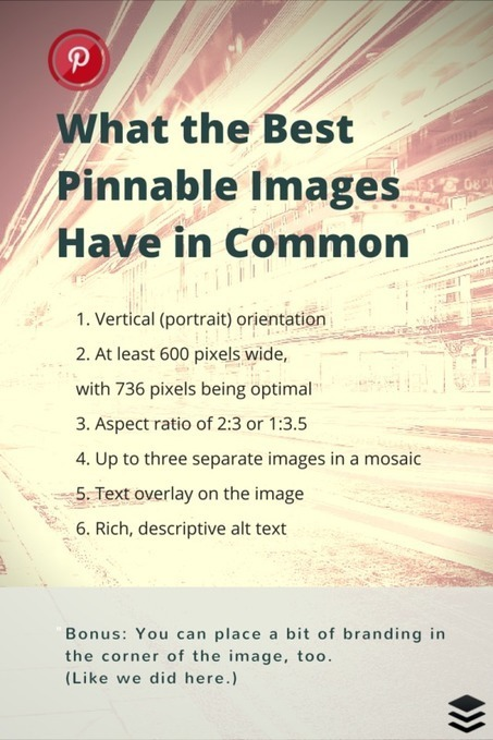 How Can You Create Pinnable Content If You're Not a Visual Brand? | Pinterest for Business | Scoop.it