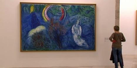 Le Musée Marc Chagall se refait une beauté et redonne de l'éclat aux oeuvres de l'artiste | Nice Tourisme | Scoop.it