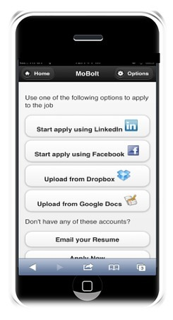 MoBolt | Mobile Job Applications made easy | Recruitment & Technology | Scoop.it
