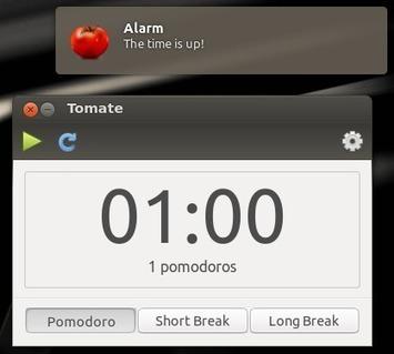 Tomate : un minuteur dans Ubuntu   Tous #Libre   Scoop.it