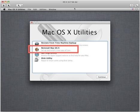 Run Mac OS X Lion 10.7 in a Virtual Machine on Top of Mac OS X 10.6 Snow Leopard | All Things Mac | Scoop.it