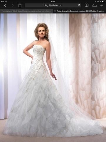 1df3a7030e9 robe de mariée argentan d occasion Empire du Mariage - Seine et Marne