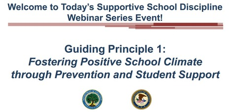 Fostering Positive School Climate Webinar | Positive Behavior Intervention & Supports:  Oakland County | Scoop.it