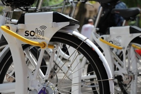 Networked Intelligent Bicycles Are Transforming Urban Riding | Arrival Cities | Scoop.it