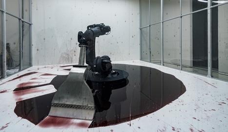 The Guggenheim's First Robotic Artwork Is Out of Control | Azura Wannmann onThe Creators Project | Digital #MediaArt(s) Numérique(s) | Scoop.it