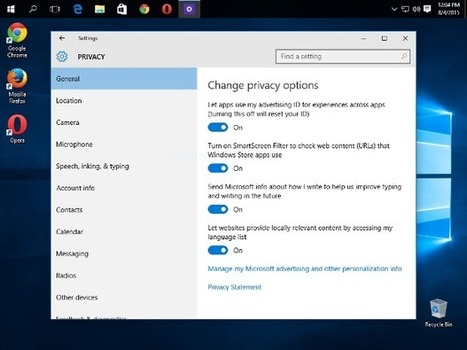 How to secure Windows 10: The paranoid's guide   #Privacy   #DigitalCitiZEN     Free Tutorials in EN, FR, DE   Scoop.it