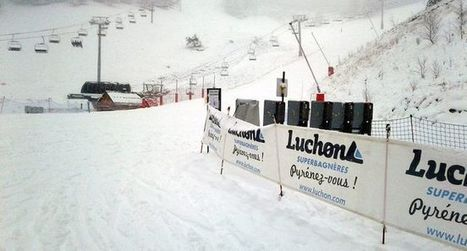 La neige fait enfin  son apparition | Louron Peyragudes Pyrénées | Scoop.it