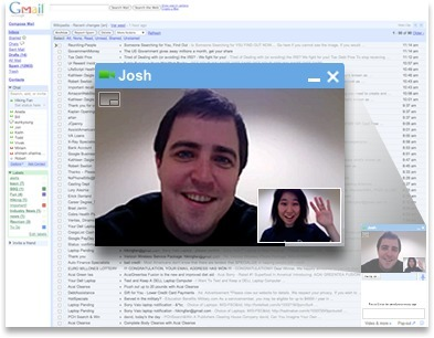 """#Google voice and video chat now right from gmail #edtech20 