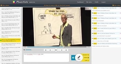 MoocNote - Take notes on videos | eLearning related topics | Scoop.it