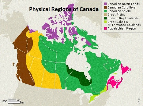 Physical Regions of Canada Scoopit