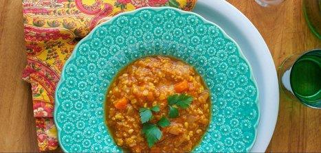Moroccan Lentil Soup - Plant-Based Vegan Recipe | Vegan Food | Scoop.it