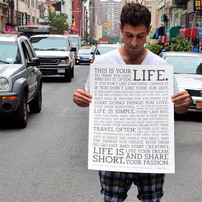 The Holstee Manifesto | Create! Words or Otherwise | Scoop.it