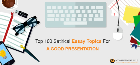 Satire Topics How To Write A College Essay