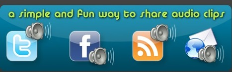 7 herramientas para mandar audios por Twitter | Aprendiendo a Distancia | Scoop.it