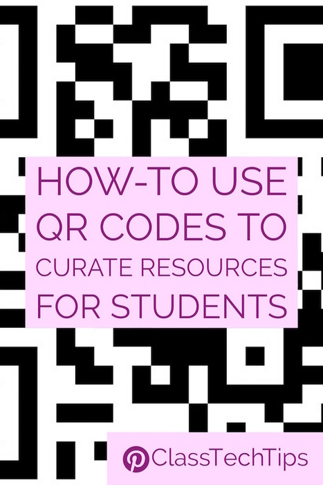 How-To Use QR Codes to Curate Resources for Students - Class Tech Tips | ICT Nieuws | Scoop.it