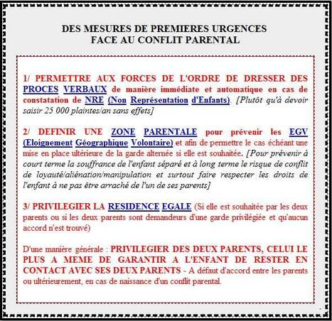 Mesures d'urgence face à l'Exclusion Parentale | JUSTICE : Droits des Enfants | Scoop.it