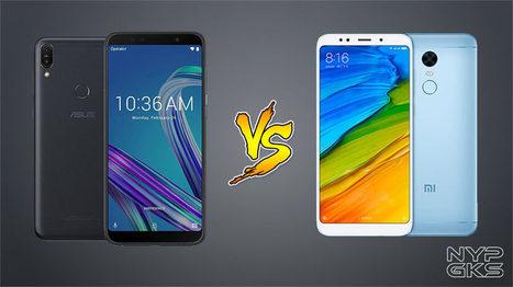 ASUS Zenfone Max Pro M1 vs Xiaomi Redmi 5 Plus: