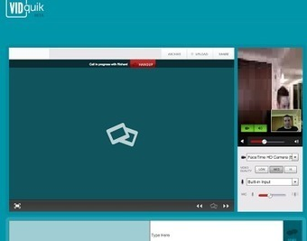 Free Technology for Teachers: VIDquik Offers Quick Web and Video Conferencing | Edtech PK-12 | Scoop.it