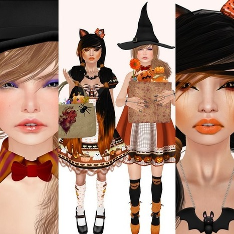 How do i look?: trick or treat? | Second Life Not to miss! | Scoop.it