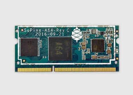SOPINE A64 PC Card For $29 Is Equipped With Twice The RAM of New Pi Compute Module 3 | Raspberry Pi | Scoop.it