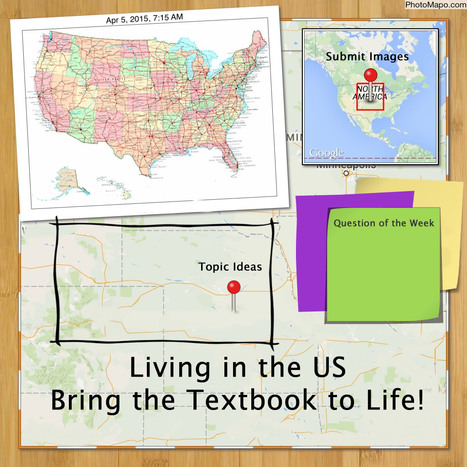 Join Our Collaborative Project: Bring the Textbook to Life & Explore Living in the US | Cool Tools for Multimedia | Scoop.it