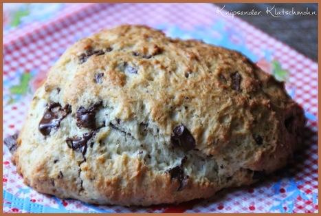 Knipsender Klatschmohn: Schokoladen Scones * | Brownies, Muffins, Cheesecake & andere Leckereien | Scoop.it