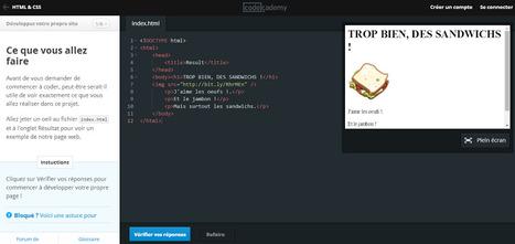 Codeacademy, la plateforme pour apprendre à programmer, est maintenant disponible en français ! | Communication digitale et stratégie de contenu éditorial | Scoop.it