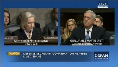 Defense nominee Mattis won't say if women and LGBT people should be able to serve | Adolescent Sexuality | Scoop.it