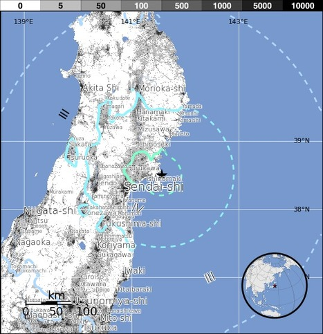 M6.2 - 24km ENE of Ishinomaki, Japan | Japan Tsunami | Scoop.it